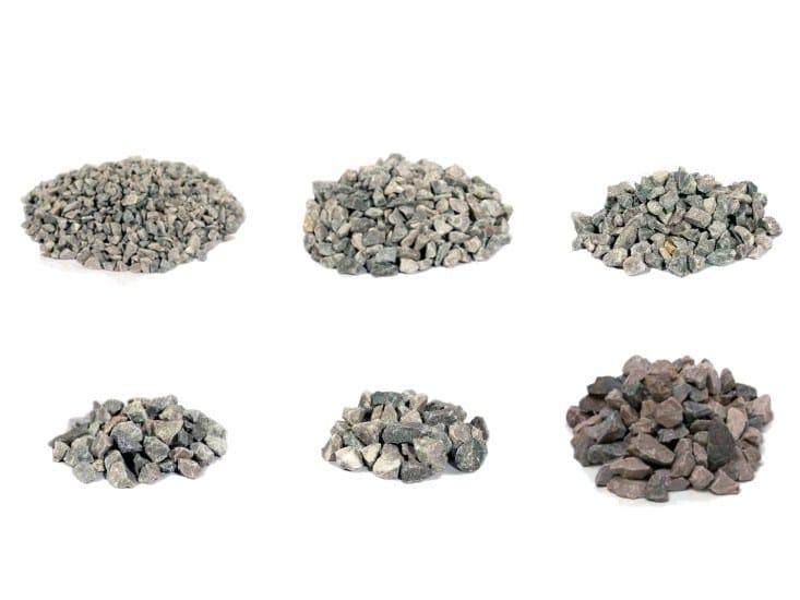 Decorative pebbles CRUSHED ROCK OCCHIALINO by Bernardelli Group