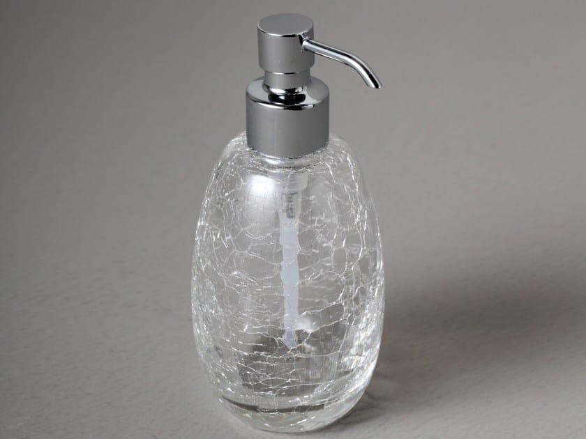 Crystal liquid soap dispenser CRIS201.2 | Liquid soap dispenser by BLEU PROVENCE