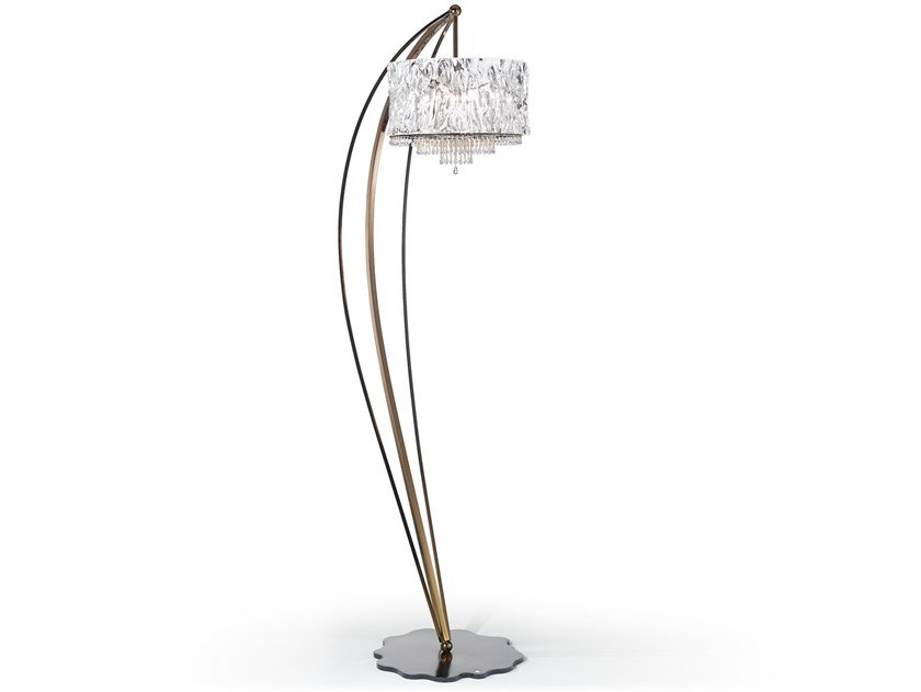 Crystal blade floor lamp crystal blade collection by idl export floor lamp with swarovski crystals crystal blade floor lamp by idl export aloadofball Images