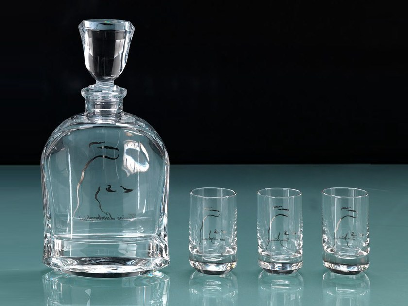 Set crystal liquor glasses CRYSTAL | Set liquor glass by Tonino Lamborghini Casa