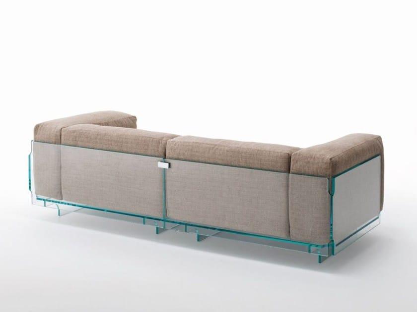 Crystal sofa CRYSTAL LOUNGE | Sofa by Glas Italia