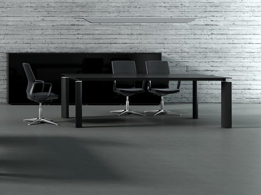 Tavolo da riunione rettangolare CRYSTAL   Tavolo da riunione by MDD