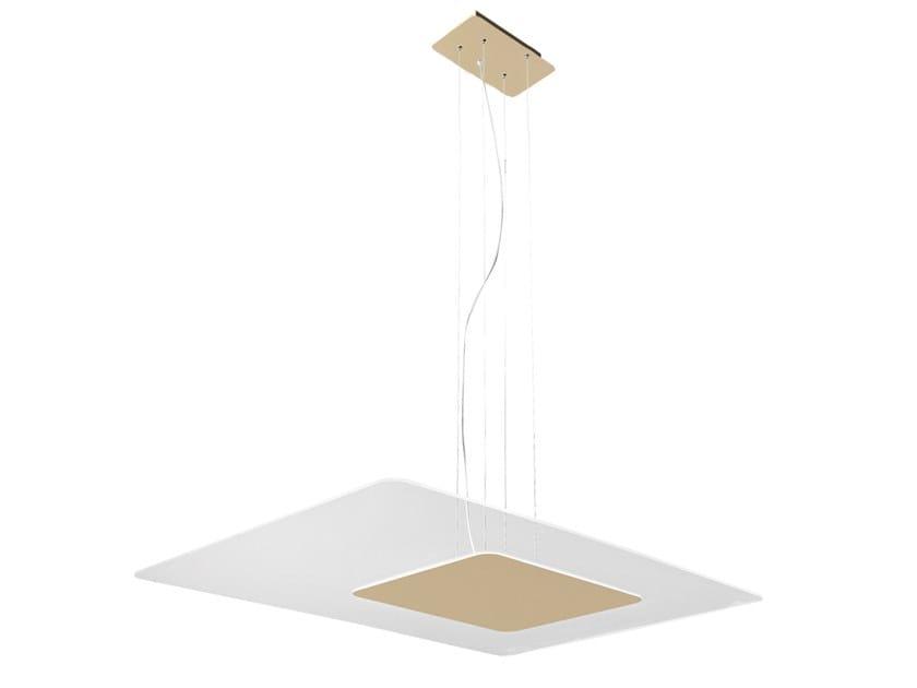 Lampada a sospensione a LED in alluminio CRYSTAL | Lampada a sospensione by Rossini Illuminazione