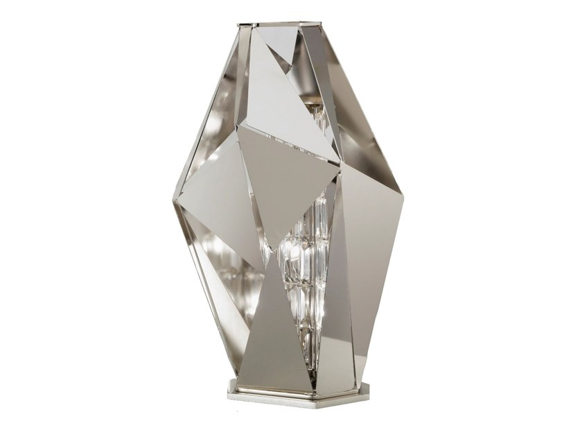 Crystal rock table lamp crystal rock collection by idl export metal table lamp with swarovski crystals crystal rock table lamp by idl export aloadofball Image collections