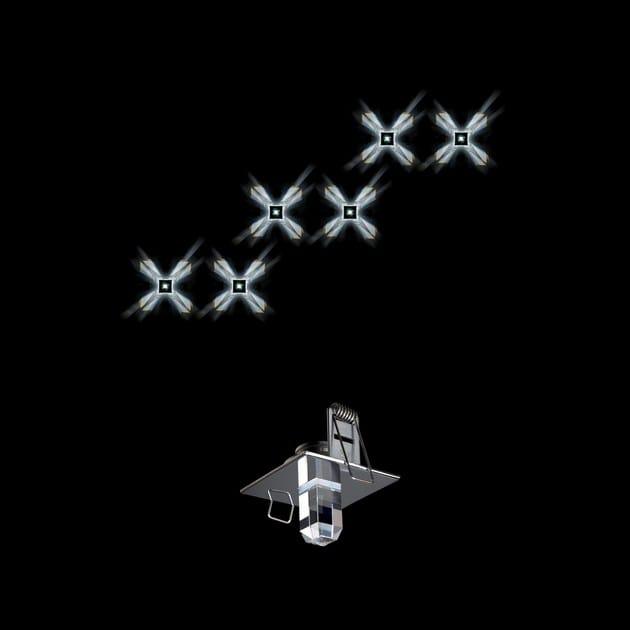 Cristallo Starled Led A In Deluxe Swarovski Crystal Faretto jLGqVUSzMp