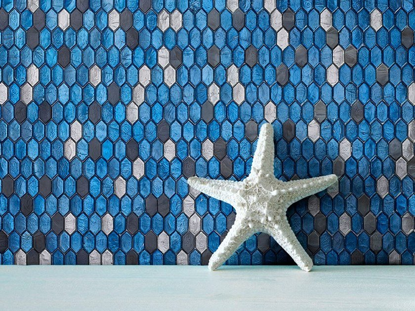 Mosaico in vetro CRYSTAL by Sicis