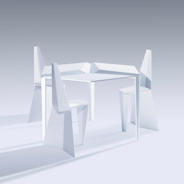 Nea Table Tavolo Cucina Crystallized Da Studio TcK1FJl