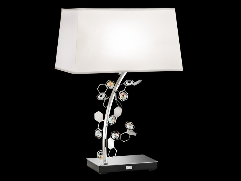 LED direct light table lamp with Swarovski® crystals CRYSTALON | Table lamp by Swarovski