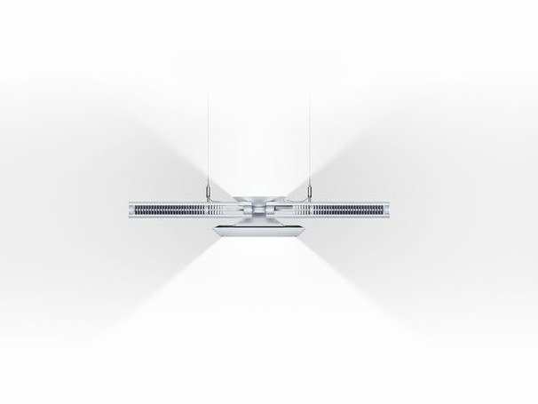 LED direct-indirect light pendant lamp CU-BEAM DUO by Dyson