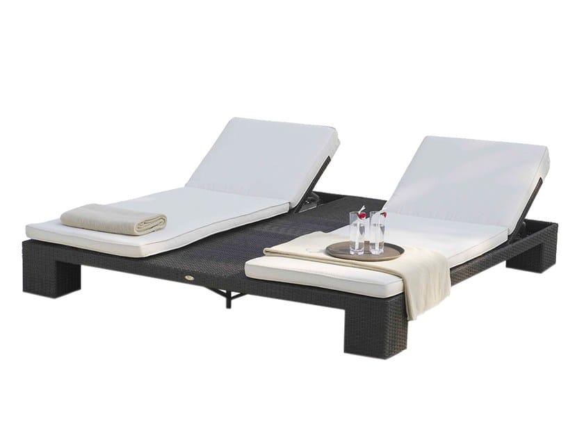 Sun double lounger CUATRO 2933 by SKYLINE design