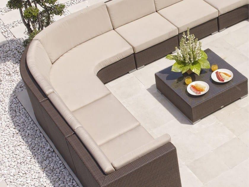 Modular leisure sofa CUATRO PACIFIQUE   Sectional sofa by SKYLINE design