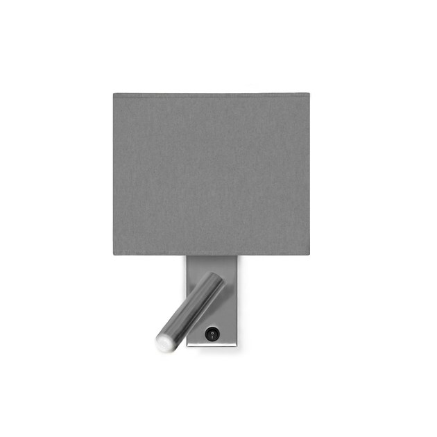 Direct light fluorescent adjustable metal wall light CUB LED | Wall lamp by luxcambra