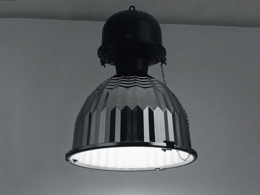 Die cast aluminium pendant lamp CUBA 2 by LANZINI