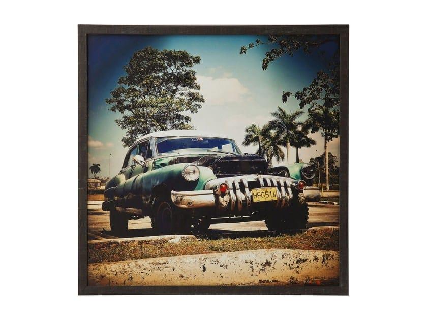 Photographic print CUBA RALLYE 76x76 by KARE-DESIGN