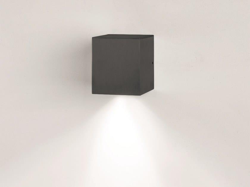 Bel A In Cube Diretta lighting Alluminio 1linteriorApplique Luce PnwO8k0X