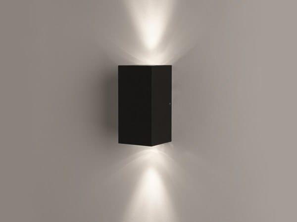 Applique a luce diretta e indiretta in alluminio CUBE 2L (interior) by BEL-LIGHTING
