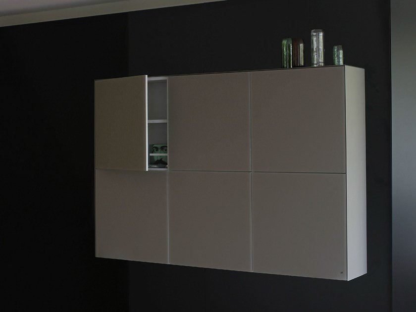 Xeramica wall cabinet with door CUBE 55 | Wall cabinet by Joli