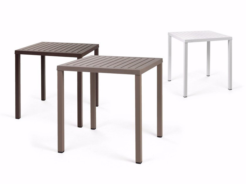 Stackable Square Table CUBE 70 By Nardi