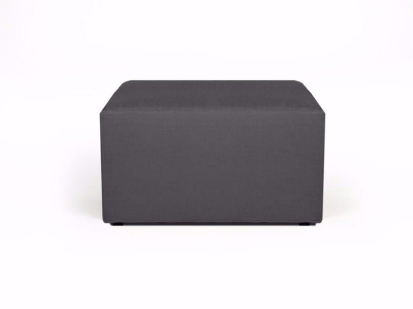 Fabric pouf CUBE by Arketicom Design