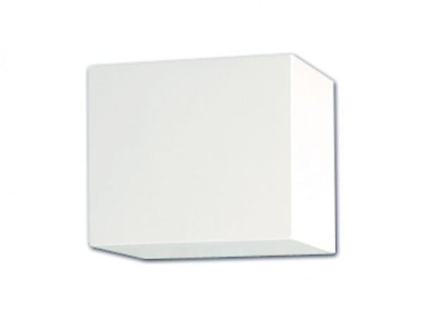 Gypsum wall light CUBE | Indirect light wall light by GESSO
