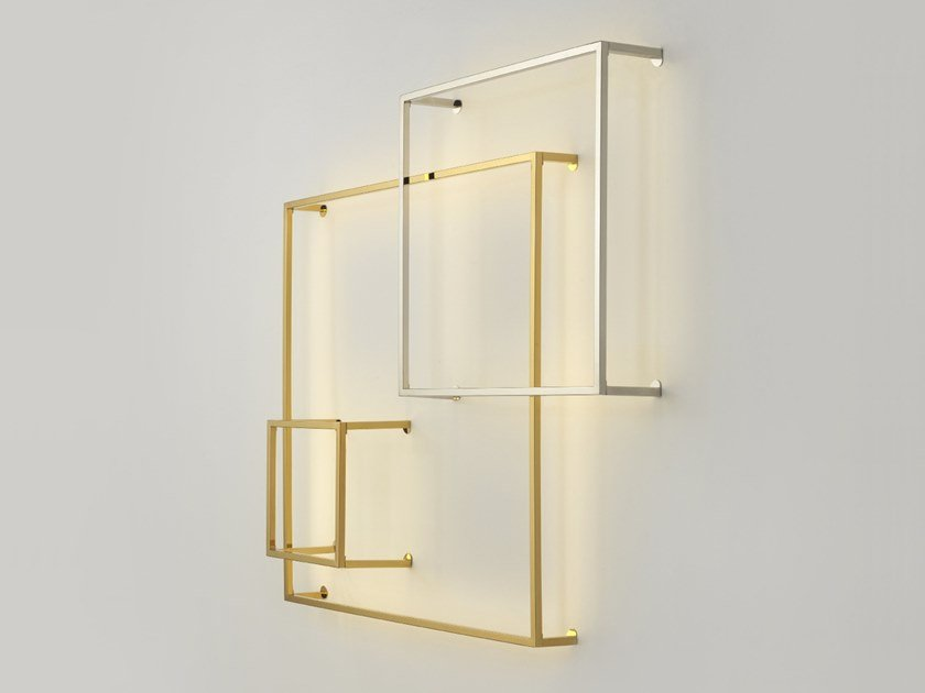 LED metal wall lamp CUBE | Wall lamp by Aromas del Campo