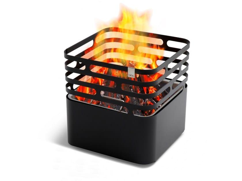 Barbecue / Ciotola per fuoco in acciaio verniciato a polvere CUBE by höfats