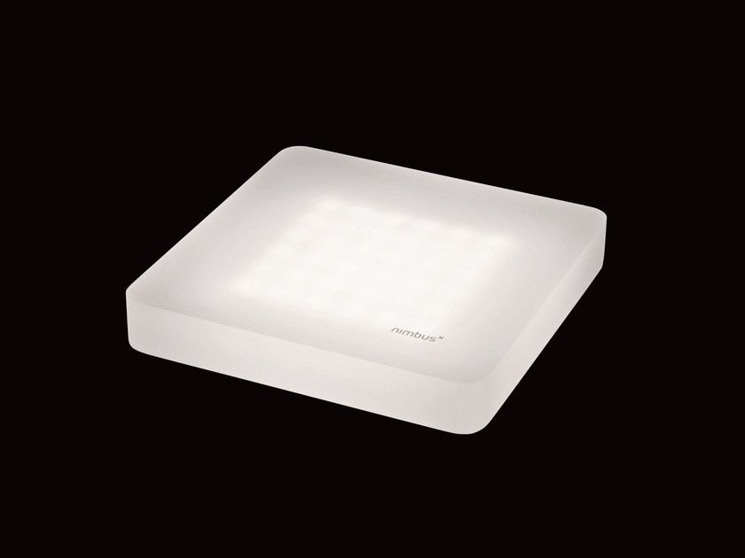 Contemporary style LED direct light ceiling light CUBIC by Nimbus