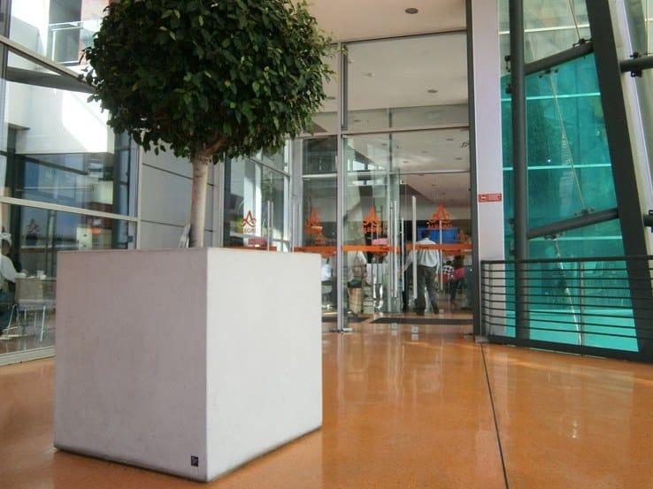 Fioriera per spazi pubblici quadrata CUBIK (100) by Sit