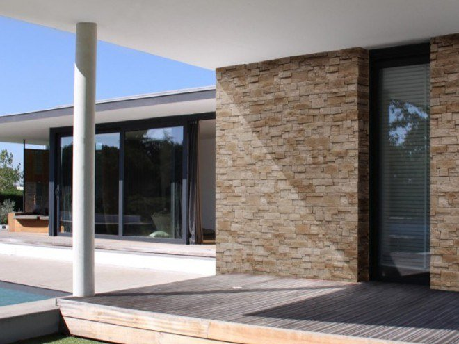 Rivestimento in pietra ricostruita CUBIK by Matiera