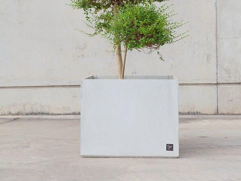 Concrete Flower pot CUBIK by SIT