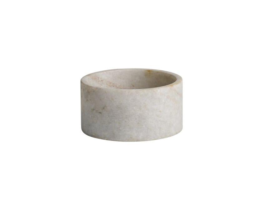 Marble serving bowl CUBISM BIG BOWL by 101 Copenhagen