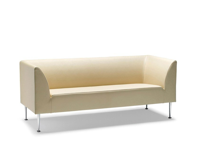 Leather sofa CUBO | Leather sofa by Stouby
