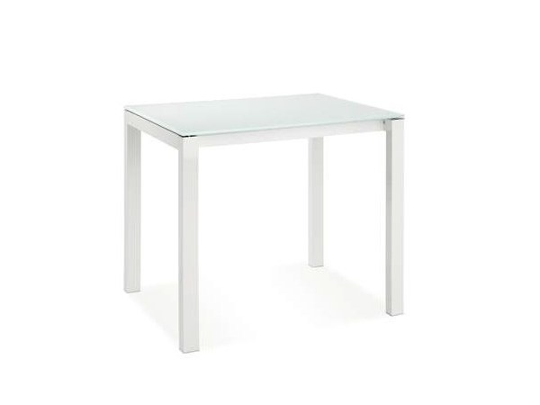 Extending square glass table CUBOTTO by CREO Kitchens