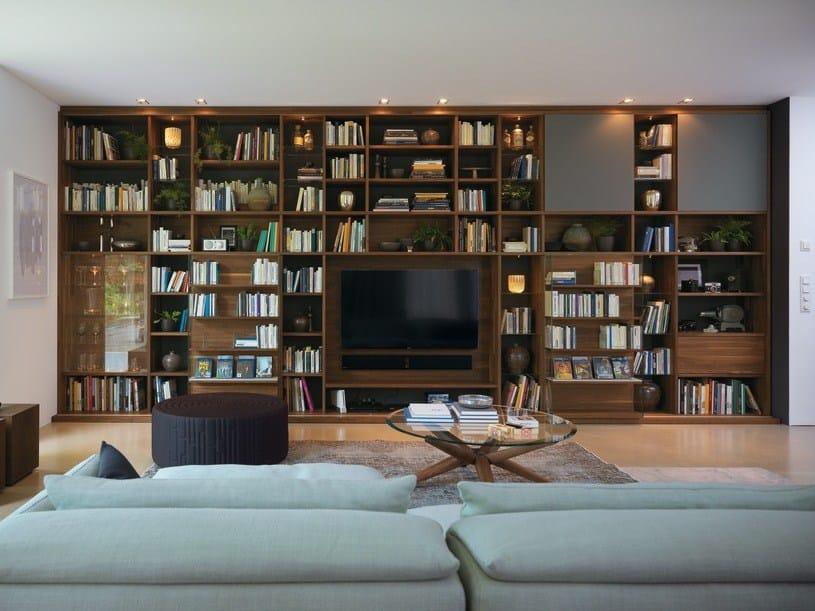 Offenes Freistehendes Bücherregal Aus Holz CUBUS | Bücherregal By TEAM 7