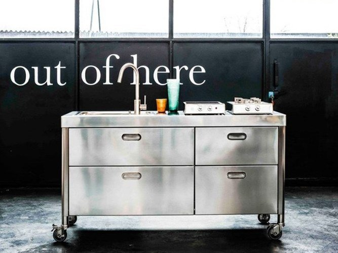 "CUCINA 160 ""OUT OF HERE"" By ALPES-INOX"