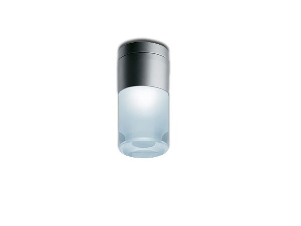 LED glass and aluminium ceiling lamp CUP | Ceiling lamp by iGuzzini