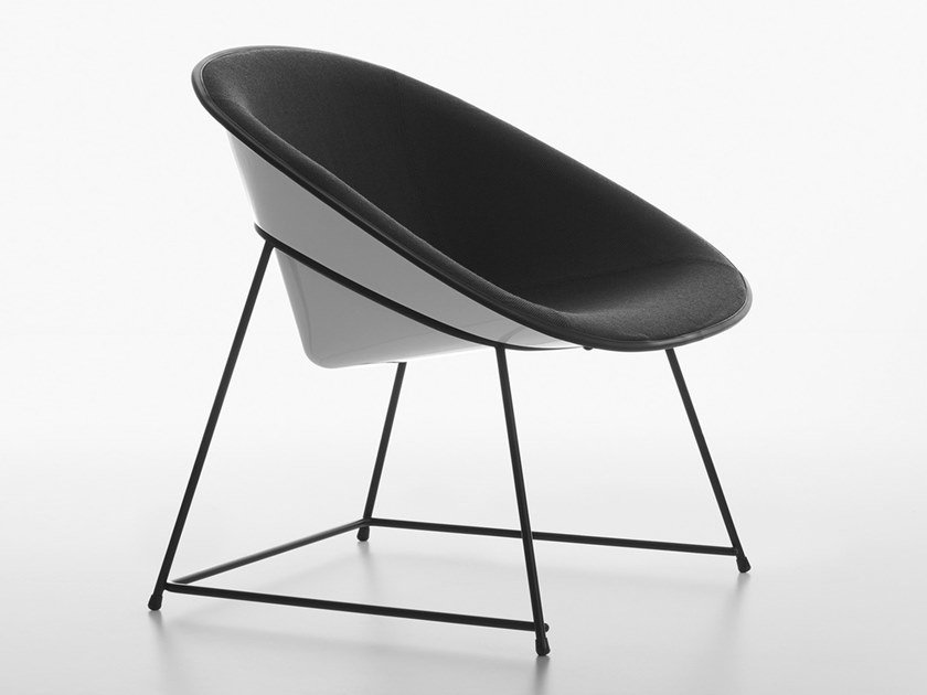Poltroncina Lounge in tessuto CUP | Poltroncina by Plank