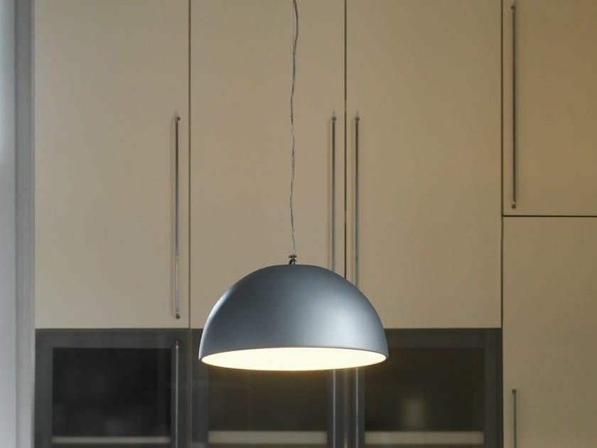 Metal pendant lamp CUPOLA by FontanaArte