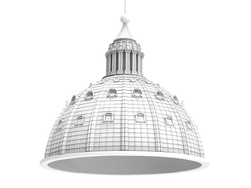 Lampada a sospensione a luce diretta in resina CUPOLONE by Seletti