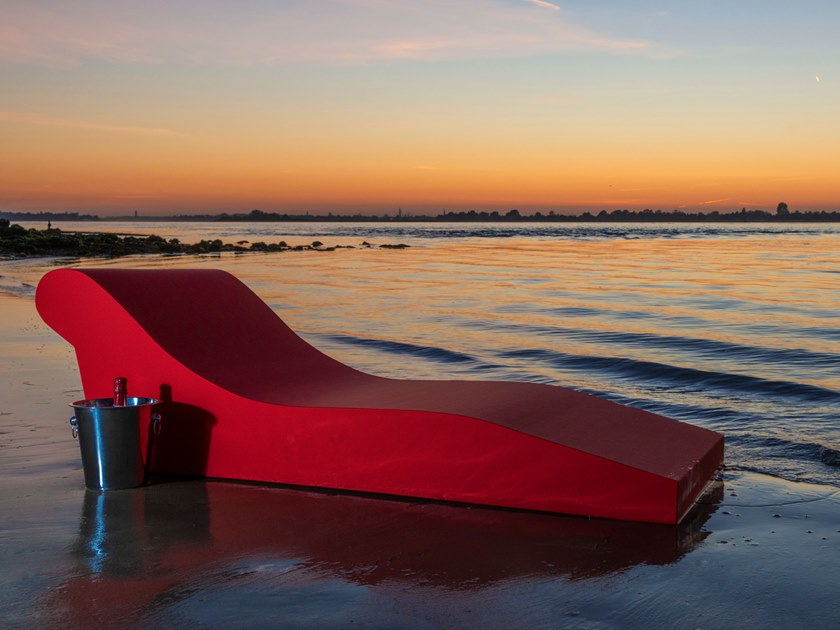Lounge chair / garden daybed CURACAO by AP Factor