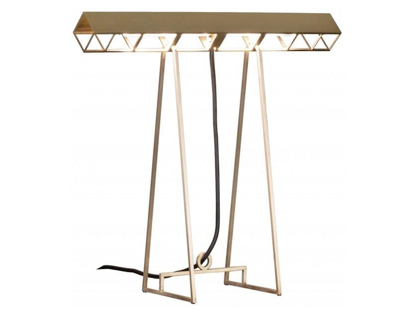 Lampada da tavolo a LED in ottone CURIOSITY by BAXTER