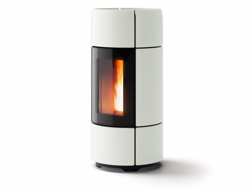 Pellet ceramic stove CURVE by MCZ GROUP