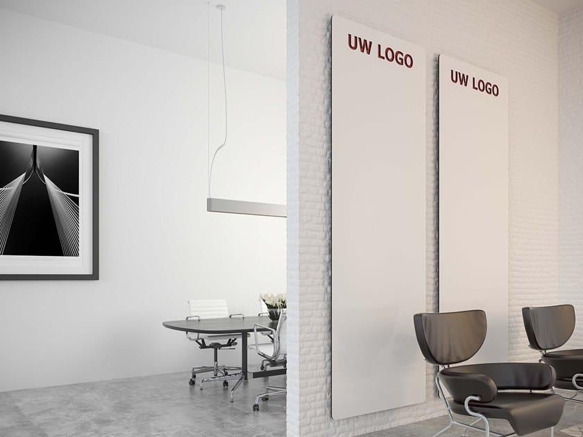 Lavagna per ufficio a parete CURVE by Chameleon