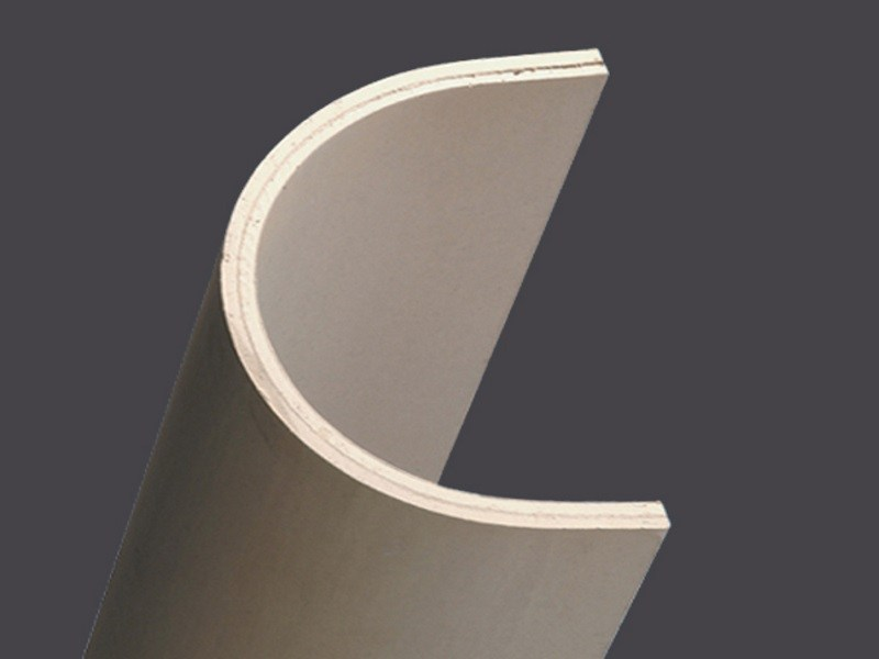 Profiles in plasterboard for columns with extensions of 5cm CURVOGIPS HALF-COLUMNS EXTENSIONS 5 CM by Gyps