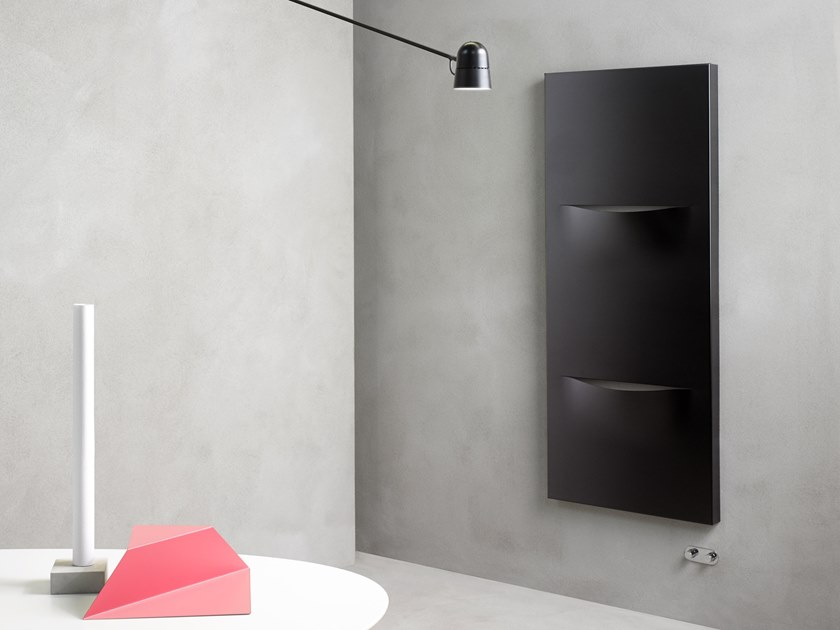 Carbon steel panel radiator CUT VERTICAL by Caleido