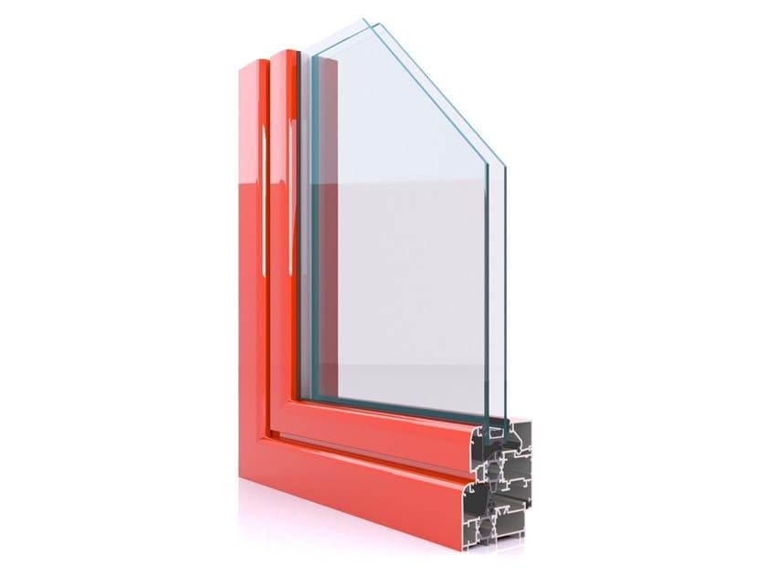 Aluminium casement window CX 600 by Twin Systems