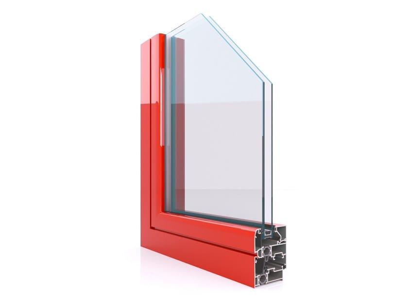 Profilati per finestre a battente CX 700 MINIMAL by Twin Systems