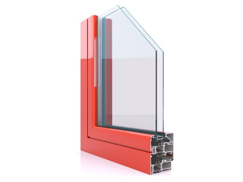 Profilati per finestre a taglio termico in alluminio CX 700 by Twin Systems