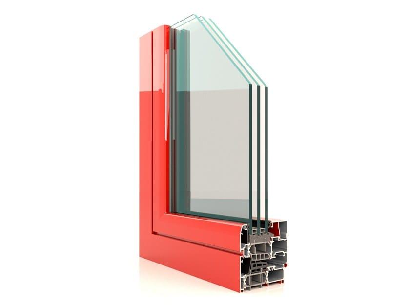 Profilati di grandi prestazioni per finestre a battente CX 850 PH by Twin Systems