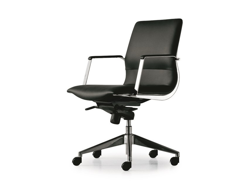Swivel task chair with armrests CX EXECUTIVE | Task chair with armrests by FANTONI